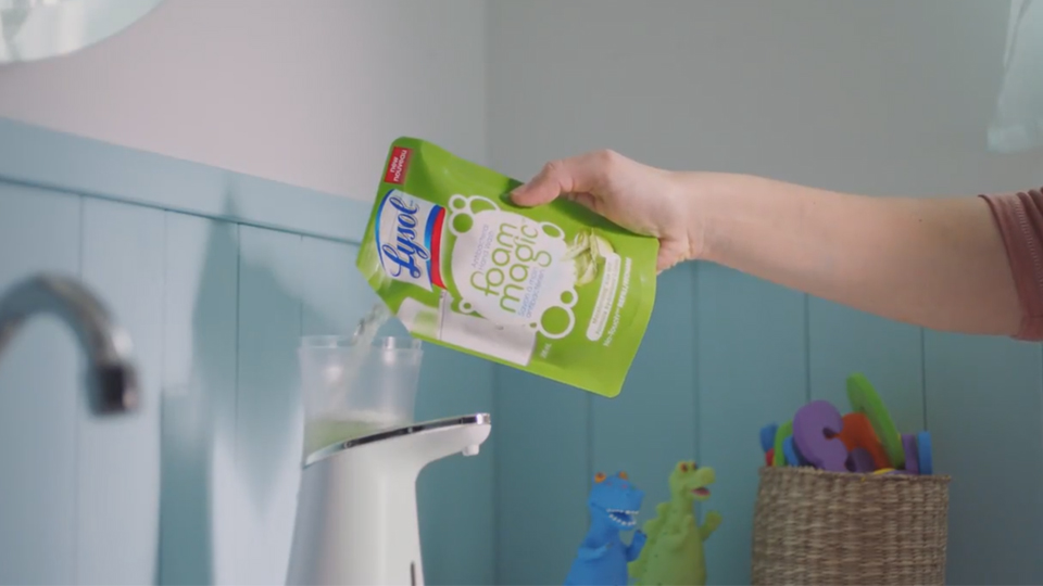 Lysol Foam Magic Hand Wash video thumbnail